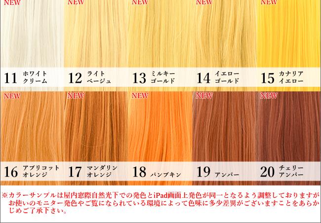カラーインフォメーションB11~20