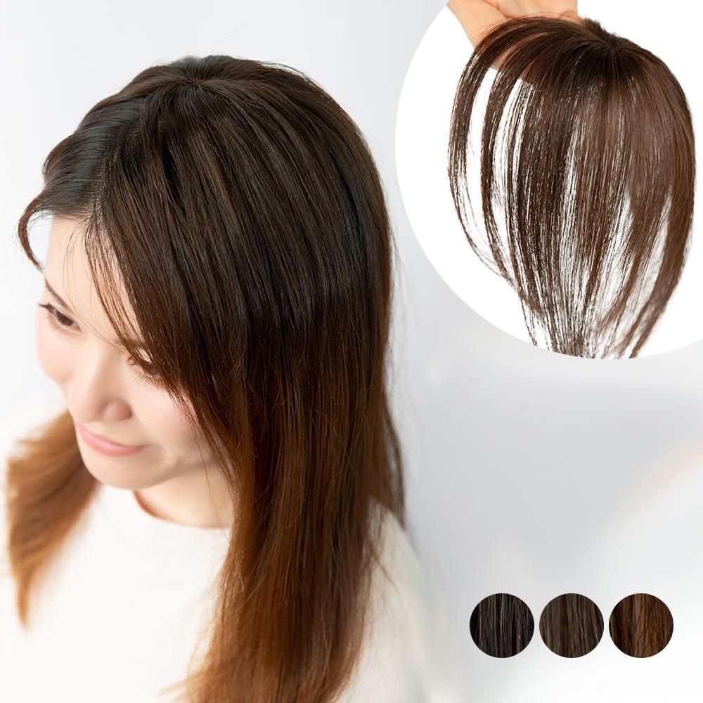 総手植え 人毛100%ワンタッチトップヘアピース btp-001