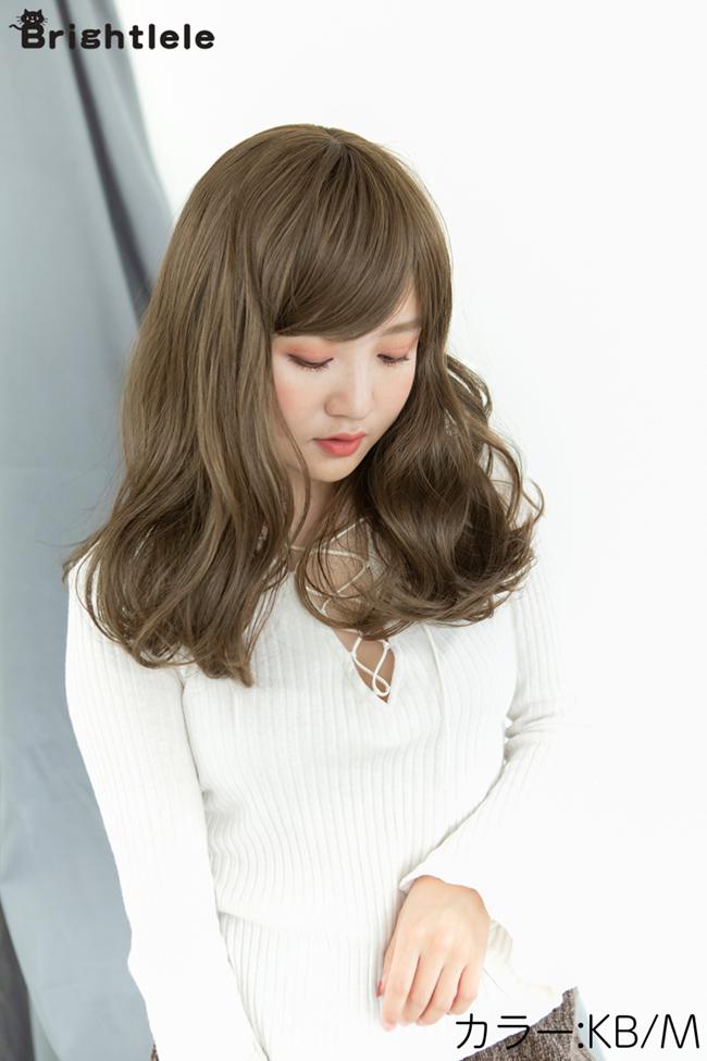 ゆるウェーブセミロング hf384 商品詳細12