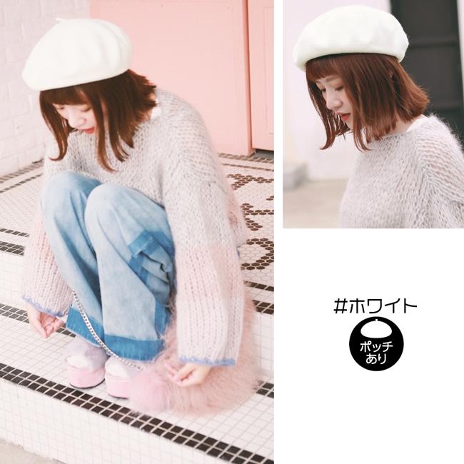 フェルトベレー帽 m001 商品詳細15