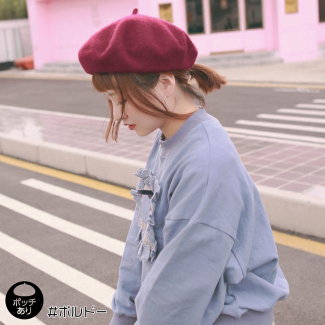 フェルトベレー帽 m001 商品詳細9
